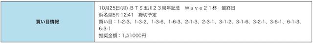 競艇研究エース10月25日無料予想