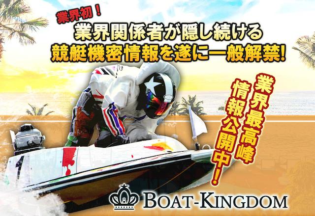 ボートキングダムのトップページ