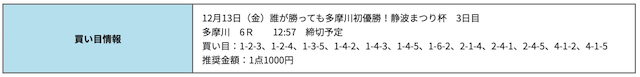 競艇研究エースの無料予想12/13
