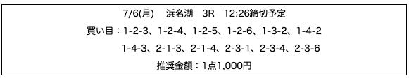 行列のできる競艇相談所07月06日無料予想