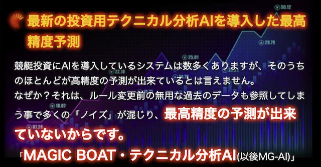 マジックボート AIについて