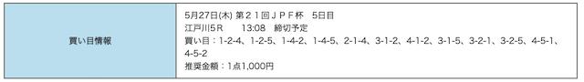 競艇研究エース2021年05月27日無料予想
